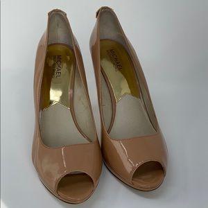 Michael Kors Peep Toe Platform Heels